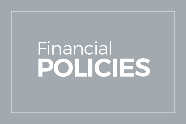 financial policy Effective financial policies can help elected officials, management, and staff make  the right decisions for their citizens now and in the future.
